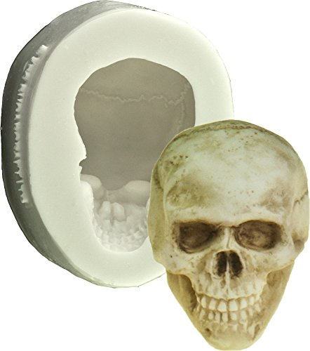 Silikon 3D Totenkopf Backform | Kuchenform 3D Totenkopf