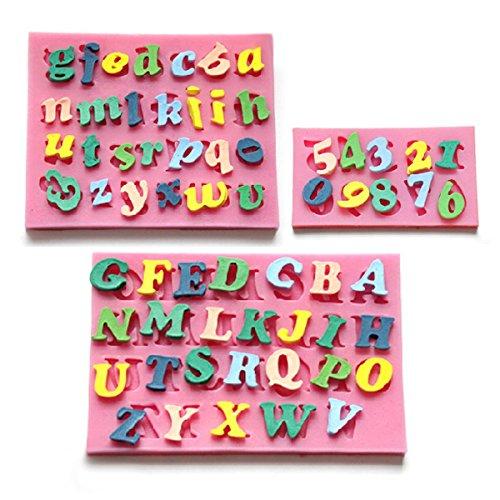 Zahlen und Buchstaben Backform | Kuchenform Zahlen und Buchstaben