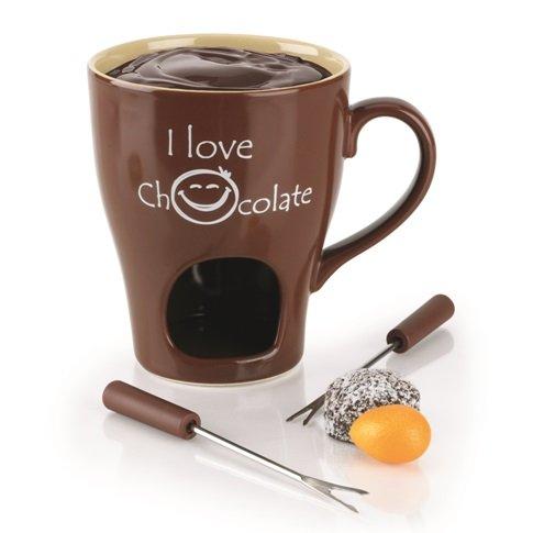Schokoladenfondue | Schokoladenfondue in einer Tasse | tassenform Schokoladenfondue | Schokoladenfondue keramik | keramik Schokoladenfondue