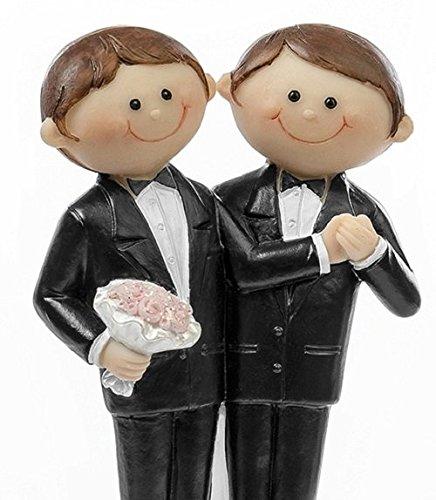 Brautpaar | Hochzeitspaar | Männerpaare für Torten | Hochzeitspaare Männer | Gleichgeschlechtige Männerpaare für Hochzeitstorten