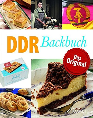 Backbuch | Rezeptbuch für Backen | DDR Backbuch | DDR Backrezepte