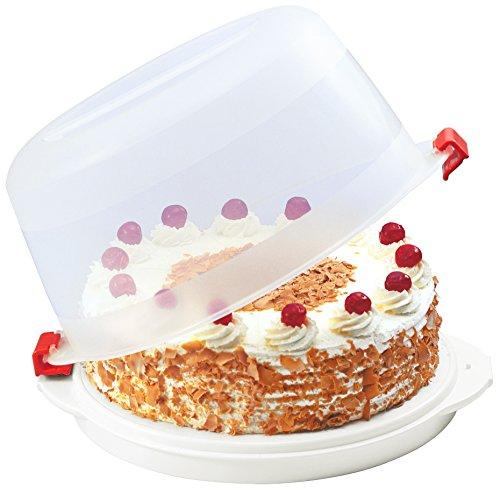 kuchenbox | kuchentransportbox | Kuchenbox mit Deckel | runde kuchentransportbox