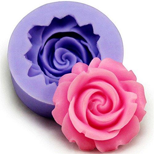 3D Rose Silikon Kuchenform | 3D Backform Rose | 3D plätzchenausstecher | Kuchenform Dreidimensional | Backform 3D | Dreidimensional Backform