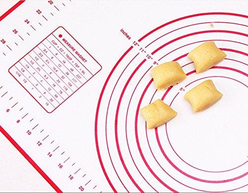 Backunterlage | Ausrollmatte | Backmatte | silikonbackmatte