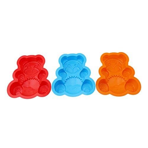 Silikon Bären Backformen | Teddy Silikon Kuchenform | Bär plätzchenausstecher | Kuchenform Teddy | Backform Teddy | Bär Backform