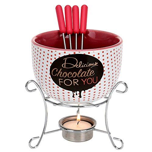 Schokoladenfondue | Schokoladenfondue für 4 personen | 4 personen Schokoladenfondue