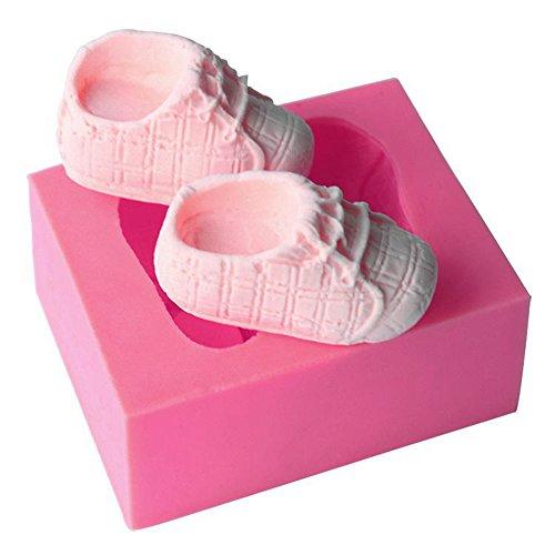 Silikon Baby Schuhe Backform | Kuchenform Baby Schuhe | Silikon Kuchenform Babyschuhe