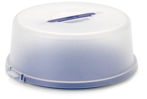 kuchenbox | kuchentransportbox | Kuchenbox mit Deckel | runde kuchentransportbox | kuchenbox blau