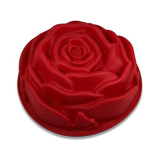 Backform Silikon Rose   Kuchenform Rose   Silikonform Rose