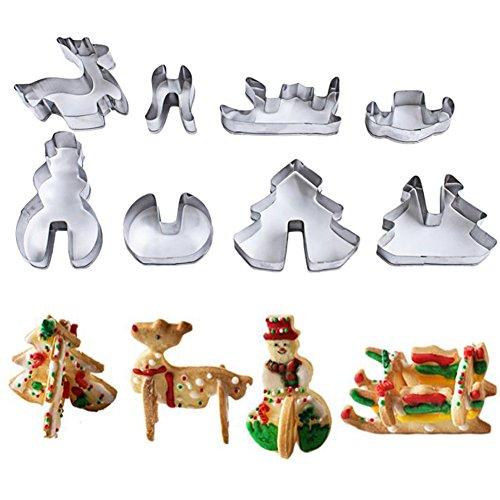 Weihnachten plätzchenausstecher | Kuchenform Weihnachten | Backform Weihnachten | Weihnachten Backform | 3D Weihnachtsmotive