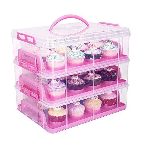 Kuchenbehälter | Kuchenbox | Kuchentransportbox | Muffinbox | Muffinbehälter | Muffintransportbox