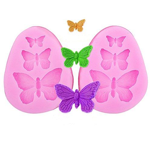 Silikon Backform Schmetterling | Flugtier plätzchenausstecher | Kuchenform Schmetterling | Backform Flugtier | Insekt Backform