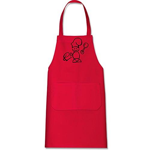 rote backschürze | küchenschürze rot |