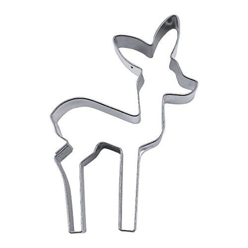 pläzchenausstecher bambi | keks ausstecher bambi | ausstecher reh |