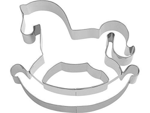 Pferd plätzchenausstecher | Kuchenform Reittier | Backform Pferd | Reittier Backform | Hufeisen Backform | Schaukelpferd