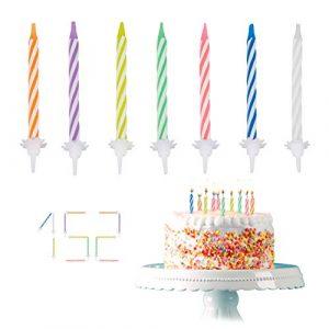 Kuchenkerzen, Kerzen für Kuchen