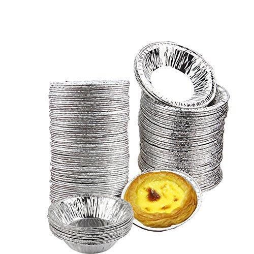 Kuchenform Einweg | Einweg Backform | Kuchenform Einweg | Backform Einweg | Papierkuchenform | 50 Stück Papierkuchenform |50 Stück einweg Aluminium Muffinform