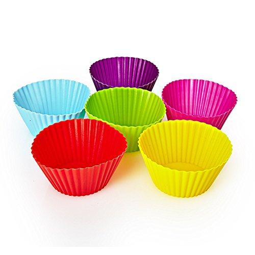 Lumaland Silikon Cupcake form | muffinform Silikon | bunte muffin backform