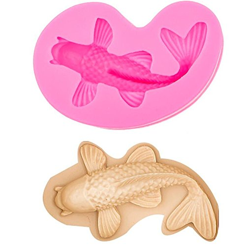Silikon Backform Fisch | Silikon Karpfen Kuchenform | Fisch plätzchenausstecher | Kuchenform Karpfen | Backform Fisch | Meerestier Backform