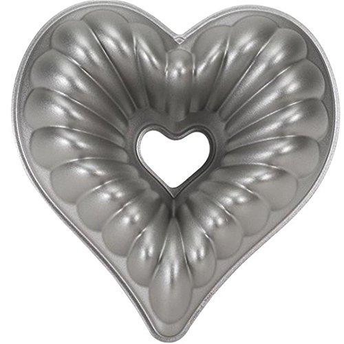 Herzbackform | Kuchenbackform Herz | Kuchenform Aluminiumguss
