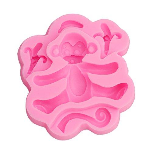 3D Affe Backform | 3D Tier Kuchenform | 3D plätzchenausstecher | Kuchenform Dreidimensional | Backform 3D | Dreidimensional Backform |