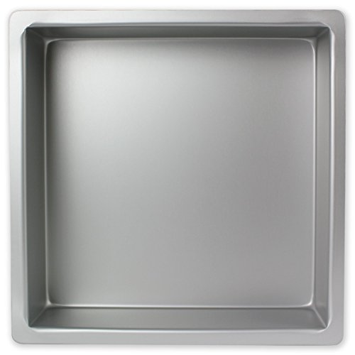PME Aluminium quadratische Kuchenform | 16x16 Kuchenform