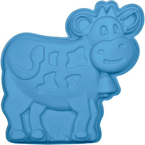 Silikon Kuchenform Kuhmotiv | Backform Silikon Rind | Silikonbackform Zoo | Kuh plätzchenausstecher | Kuchenform Rind | Backform Rind | Kuh Backform