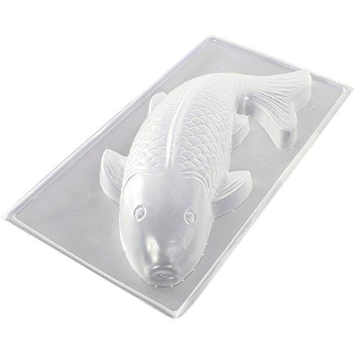 3D Backmotiv Fisch | 3D Karpfen Kuchenform | Fisch plätzchenausstecher | Kuchenform Karpfen | Backform Fisch | Meerestier Backform