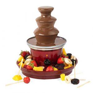 Schokoladenbrunnen, Schokoladenfondue