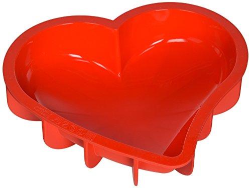 silikonform rot | rote silikonform rot | herz silikonbackform | silikon herz backform | rote hezrz backform | rote herz backform silikon