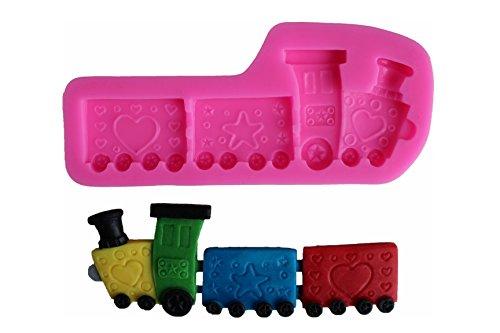 Silikonbackform Eisenbahn | Backform Silikon lokomotive
