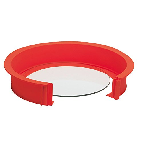 Backformen mit Glasboden | Kuchenform mit Glasboden | Glasboden Backform | Silikonspringform mit Glasboden | 26cm Kuchenform mit glasboden | backform 26cm mit glasboden | Silikon Springkuchenform