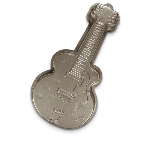 Backformen Städter | Gitarre Backform | Kuchenform Gitarre | Gitarre Kuchenform | 40cm Backform | Musiker Backform