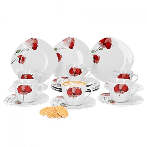 Kaffeeservice | Kaffeegeschirr | Kaffeeset | 18 teiliges Kaffeeset | Kaffeegeschirr 18 teilig | Kaffeeservice 18 teilig | Kaffeeservice für 6 personen | kaffeegeschirr für 6 personen | kaffeeset für 6 personen | Kaffeeservice mit Blumen | kaffeegeschirr mit Blumen | kaffeeset mit Blumen | Kaffeeservice für 6 personen mit Blumen | Kaffeeservice 18 teiig mit Blumen