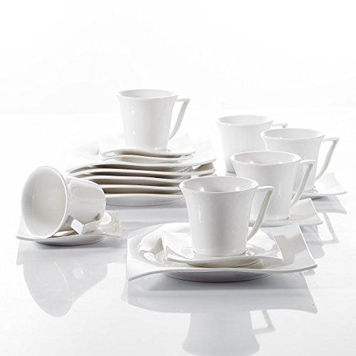Kaffeeservice | Kaffeegeschirr | Kaffeeset | 18 teiliges Kaffeeset | Kaffeegeschirr 18 teilig | Kaffeeservice 18 teilig | Kaffeeservice für 6 personen | kaffeegeschirr für 6 personen | kaffeeset für 6 personen | Kaffeeservice in Weiß | kaffeegeschirr in Weiß | kaffeeset in Weiß | Kaffeeservice für 6 personen in Weiß | Kaffeeservice 18 teiig in Weiß