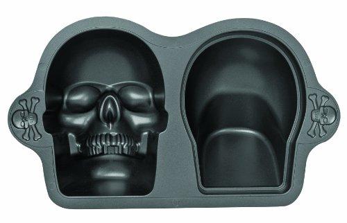 Totenkopf 3D Backform | Kuchenform 3D Totenkopf | Kuchenform Totenkopf