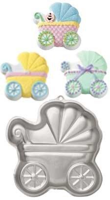 Wilton Backform | Backform Babywagen | Kuchenform Kinderwagen