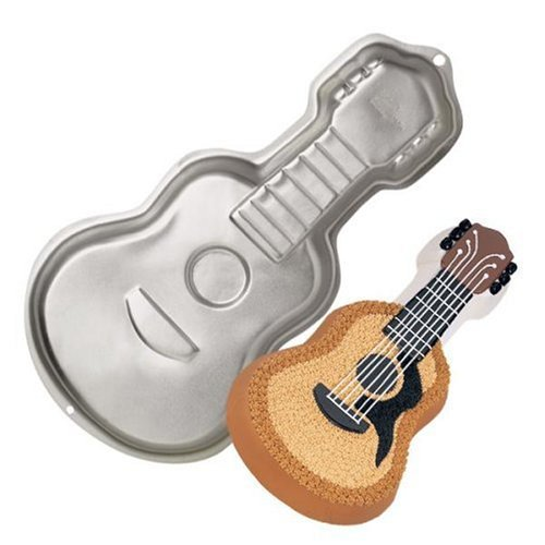 Gitarre Backformen , Gitarre Kuchenform