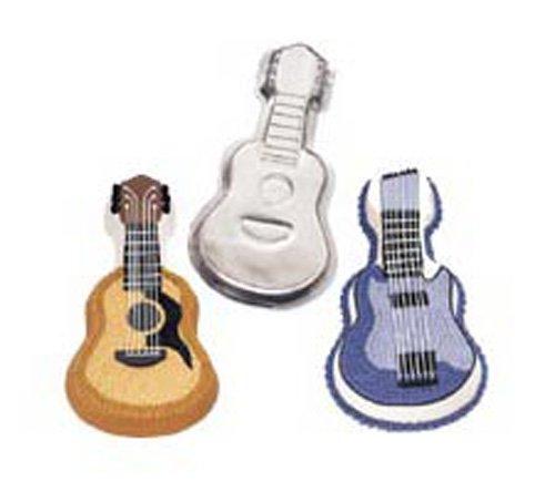 Wilton Backform | Kuchenform Gitarre | Backform Gitarre