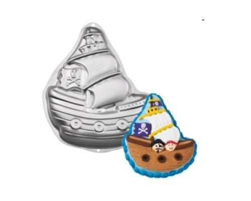 Wilton Backform Schiff | Kuchenform Piratenschiff | Backform Piratenschiff