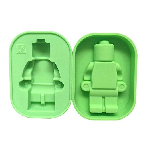3D plätzchenausstecher | Kuchenform Dreidimensional | Backform 3D | Dreidimensional Backform | 3D Silikon Roboter Backform | Kuchenform 3D Roboter