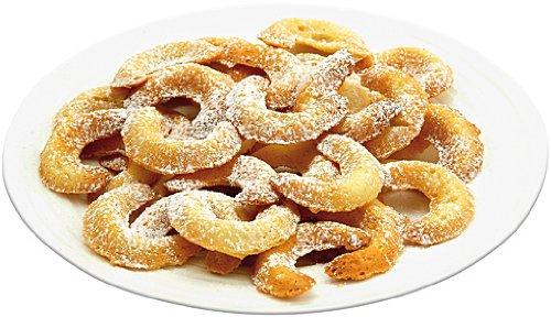 Kuchenform Vanillekipferl | Hörnchen Backblech | Vanillekipferl Backform